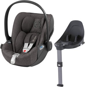 Cybex Cloud Z i-Size Plus Babyskydd Inkl. Z Bas, Soho Grey