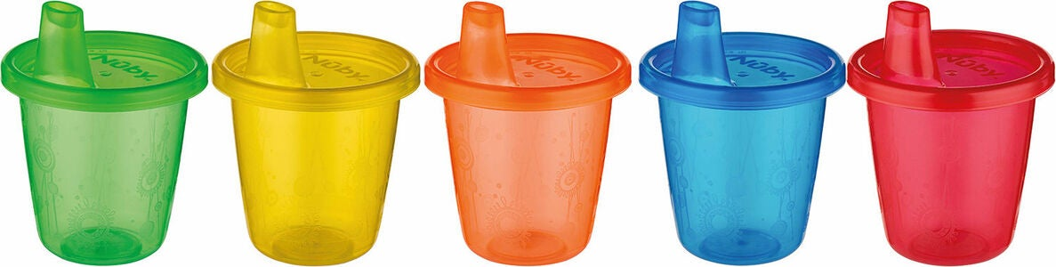 Nûby Mugg med Drickpip Set 210 ml
