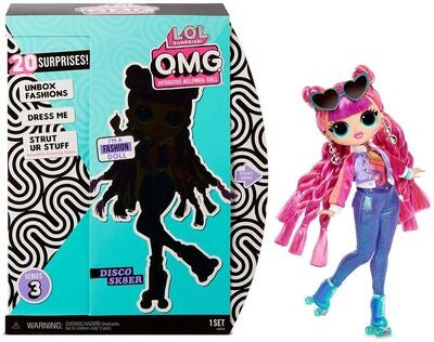 L.O.L. Surprise! OMG Doll Series 3 Roller Chick