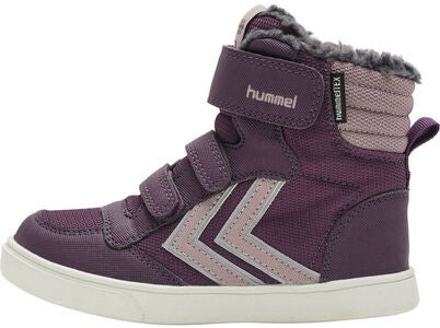 Hummel Stadil Super Poly Mid Jr Sneaker, Blackberry Wine