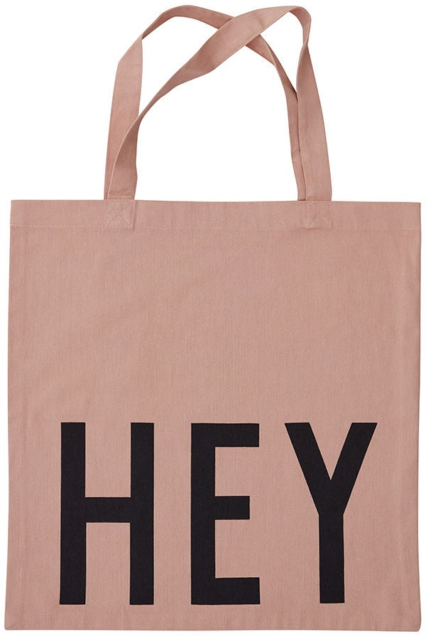 Design Letters Favourite Tygkasse Hey, Nude