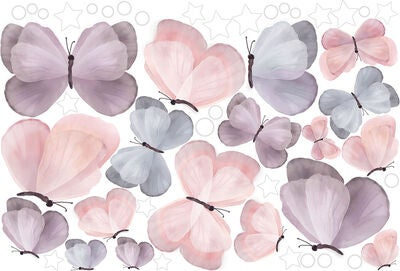 Schmooks Wallsticker Extra Sheet Butterflies