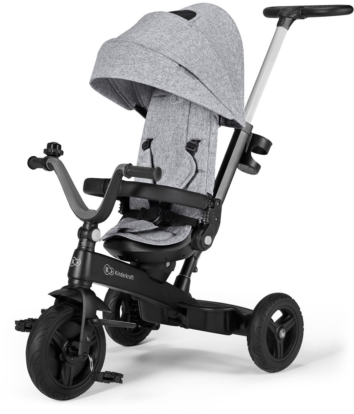 Kinderkraft Twipper Trehjuling, Grå