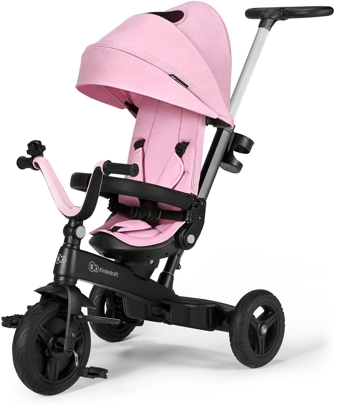 Kinderkraft Twipper Trehjuling, Rosa