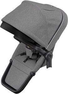 Thule Sleek Sittdel, Grey Melange on Black
