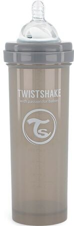 Twistshake Anti-Kolik Nappflaska 330 ml, Pastel Grey