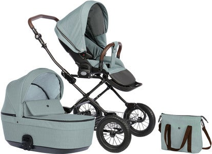 Nordbaby Nord Comfort Plus Duovagn, Arctic Slate