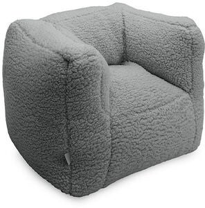 Jollein Soffa Beanbag Teddy, Cream Grey