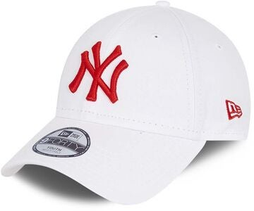 New Era NYY League Essential 9Forty Keps, White