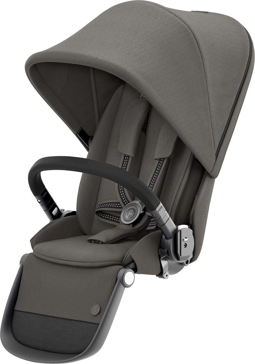 Cybex Gazelle S Syskonsits, Svart/Soho Grey
