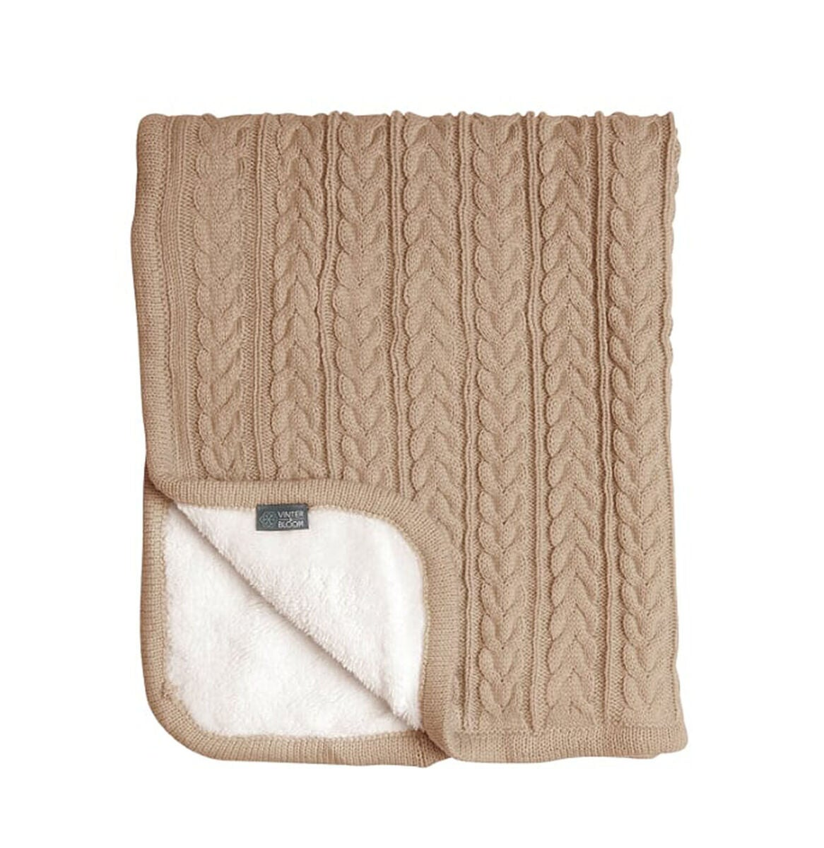 Vinter & Bloom Filt Cuddly, Almond Beige