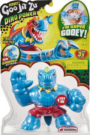 Goo Jit Zu Squishy Fighters Tyro The T-rex