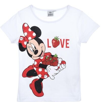 Disney Mimmi Pigg T-Shirt, White