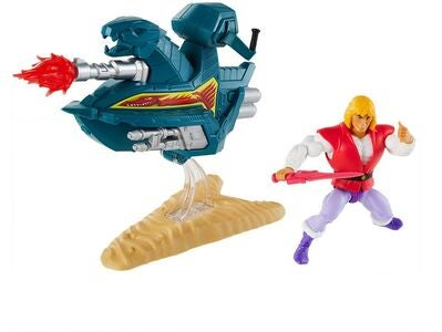 Masters of the Universe Origins Figur Prince Adam Sky Sled