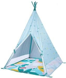 Badabulle Jungle In & Out Tepee Anti UV-Tält, Blue