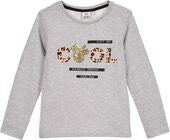 Disney Mimmi Pigg Långärmad T-Shirt, Light Grey