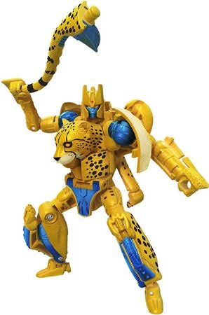 Transformers Figur War for Cybertron: Kingdom Cheetor Deluxe