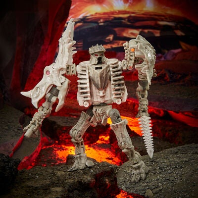 Transformers Figur War for Cybertron: Kingdom Ractonite Deluxe