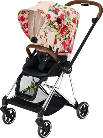 Cybex Mios Sittvagn, Chrome Brown/ Spring Blossom Light