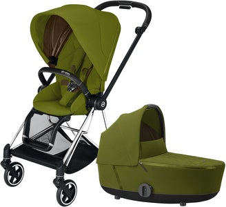 Cybex Mios Duovagn, Khaki Green/Chrome Black