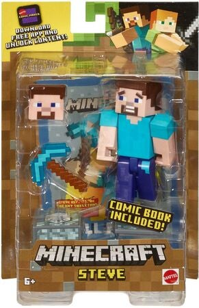 Minecraft Comic Maker Figur Steve