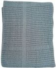 BabyDan Cotton Blanket Dusty Blue
