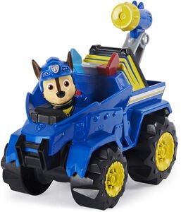 Paw Patrol Figur Med Fordon Chase Dino Deluxe