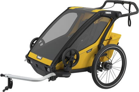 Thule Chariot Sport 2 Cykelvagn, Yellow