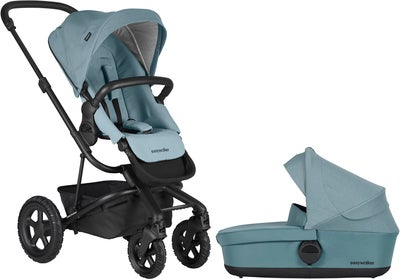 EasyWalker Harvey² All-Terrain Duovagn, Ocean Blue