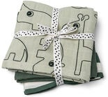 Done by Deer Raptrasa 3-Pack Deer Friends, Green
