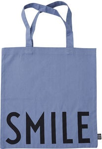 Design Letters Favourite Tygpåse Smile, Blue