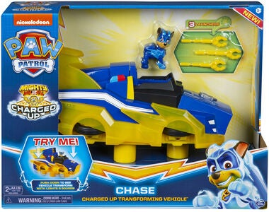 Paw Patrol Figur Med Fordon Chase