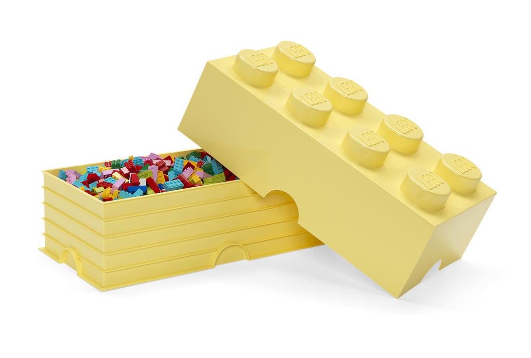 Lego Förvaring 8 Design Collection Cool Yellow