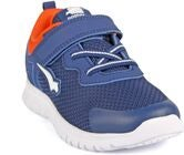 Bagheera Star Sneaker, Navy/Orange