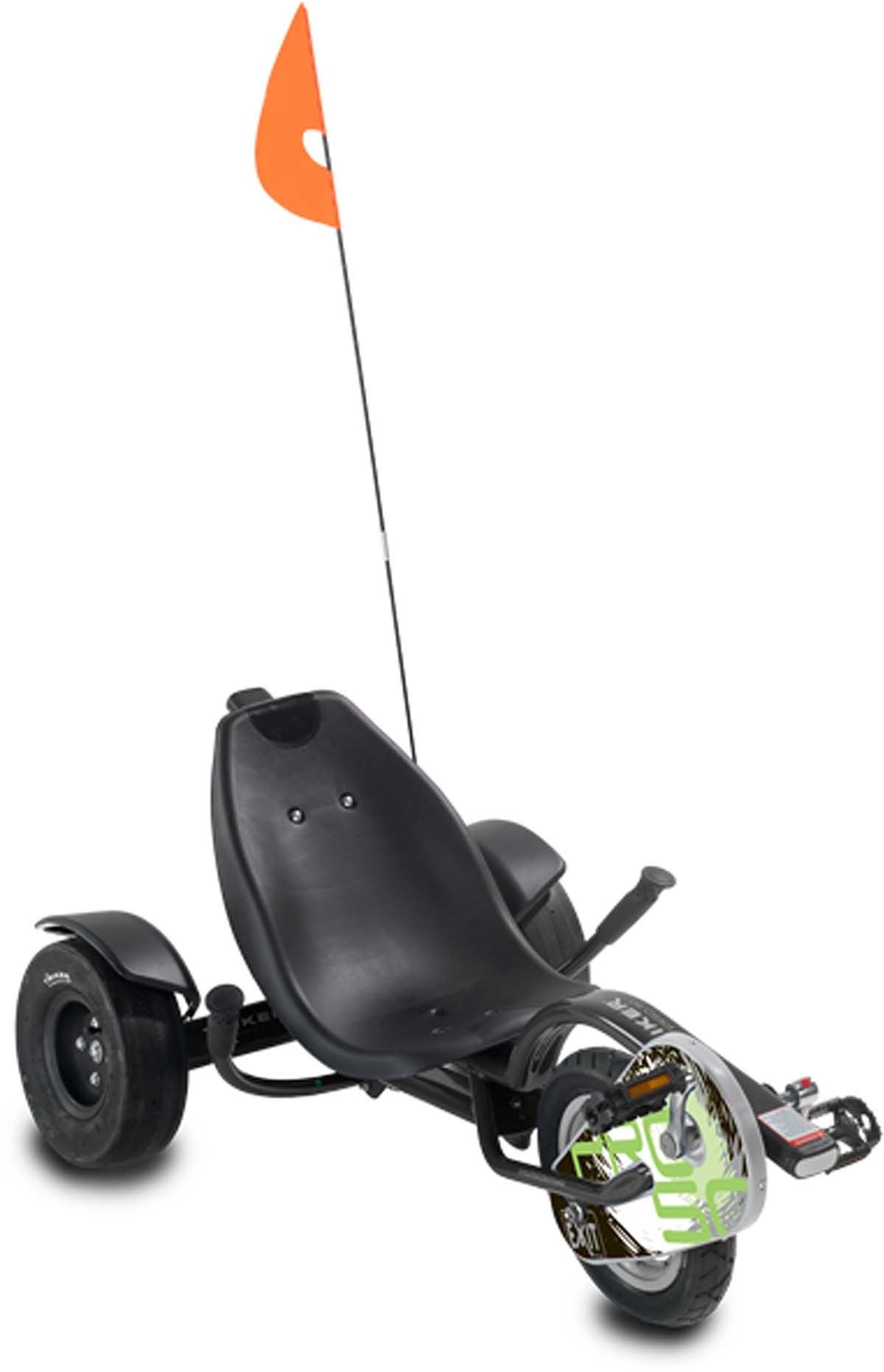 EXIT Trehjuling Triker Pro 50, Svart