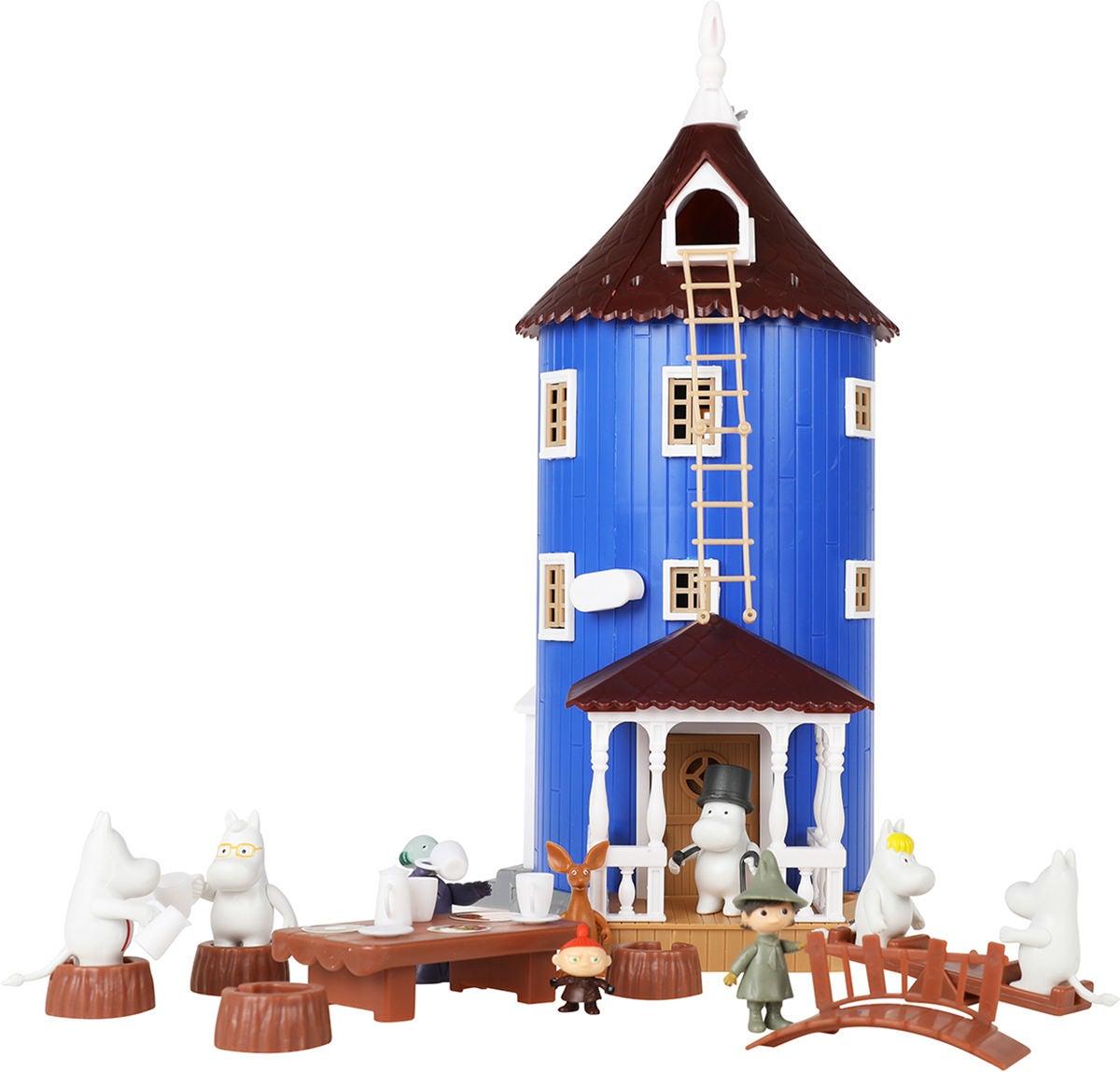 Mumin Muminhuset Dockhus, Blå