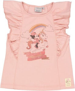 Wheat Mimmi Pigg Unicorn T-Shirt, Misty Rose
