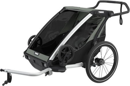 Thule Chariot Lite 2 Cykelvagn, Agave