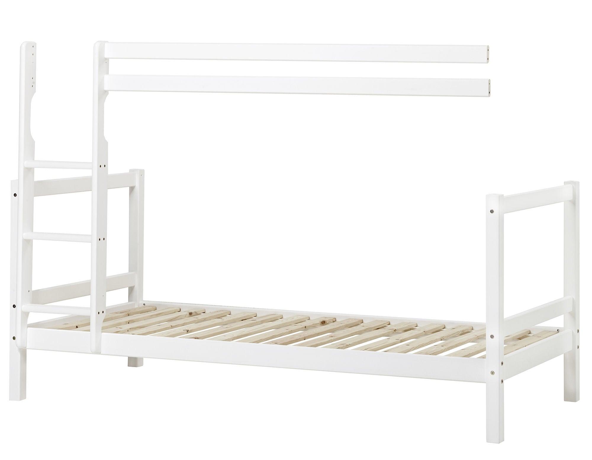 Hoppekids Modul till Våningssäng Basic 90x200, Vit