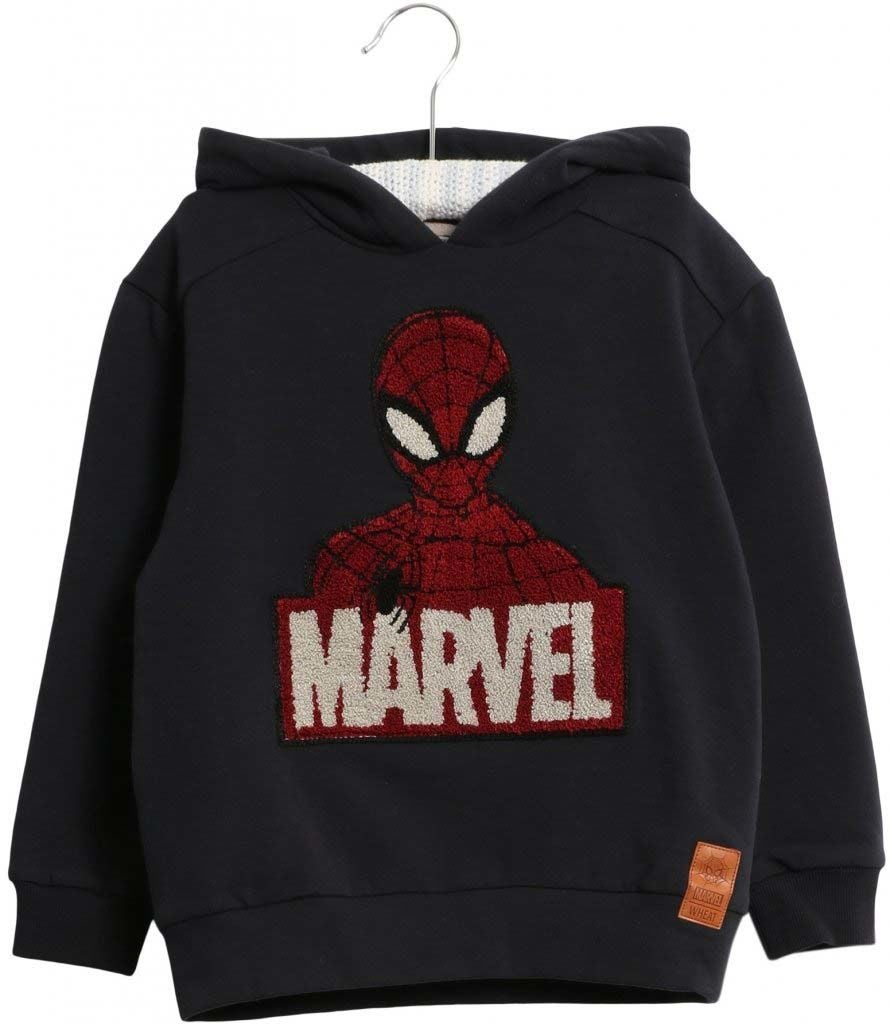 Marvel Wheat Terry X-Mas Tröja, Midnight Blue