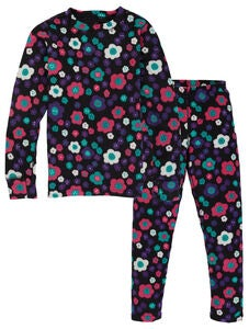 Burton Fleece Underställ Set, Flower Power