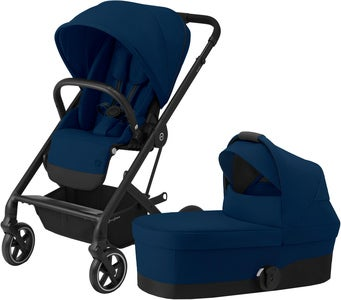 Cybex Balios S Lux Duovagn, Navy Blue/Black