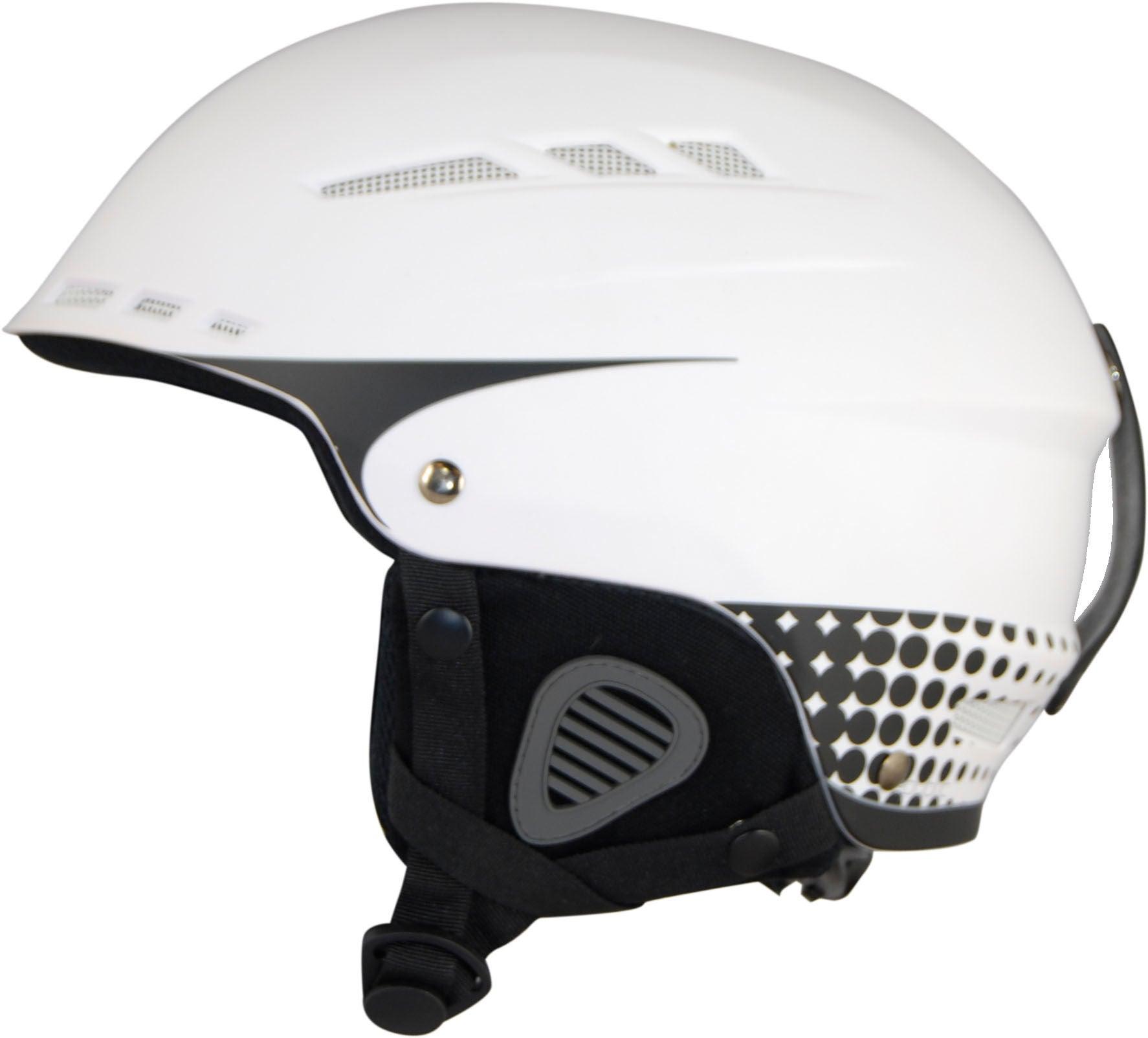 Republic R250 Skidhjälm JR, White 48-50