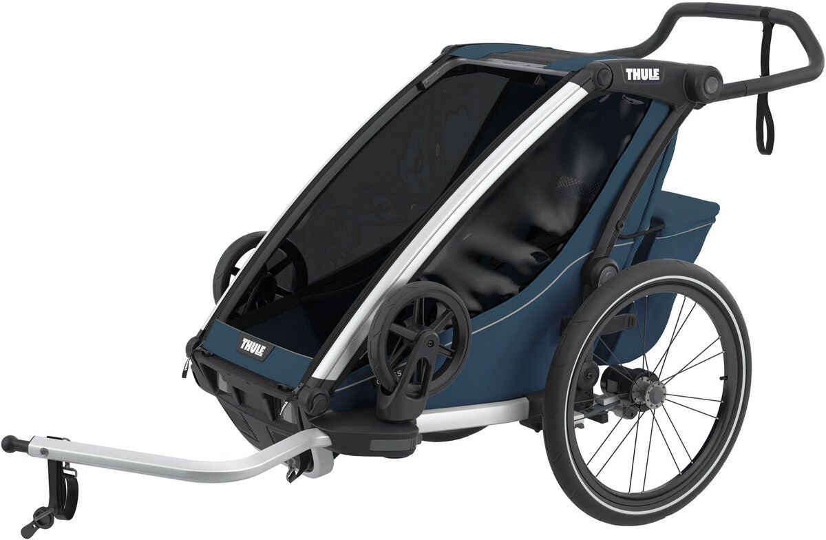 Thule Chariot Cross 1 Cykelvagn, Majolica Blue