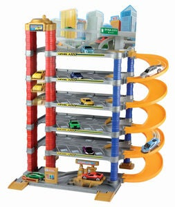 Motormax Dyna City 5-Level Parking Garage Lekset