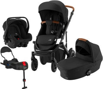 Britax Smile III Duovagn Inkl Primo Travelsystem, Space Black