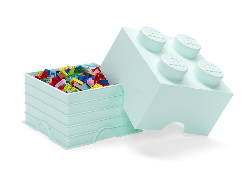 LEGO Förvaring 4 Design Collection Aqua