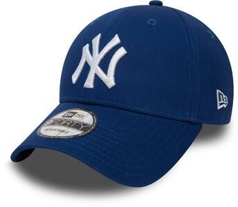 New Era NYY League Essential 9Forty Keps, Light Royal White