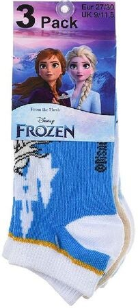Disney Frozen Strumpa 3-pack