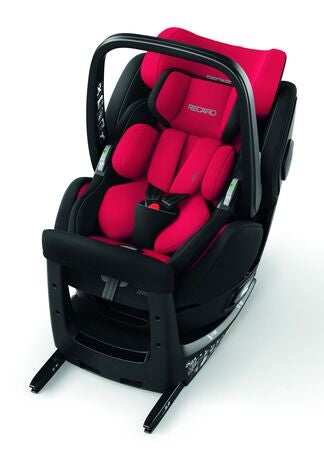 Recaro Zero 1 Elite i-Size Bilbarnstol, Racing Red